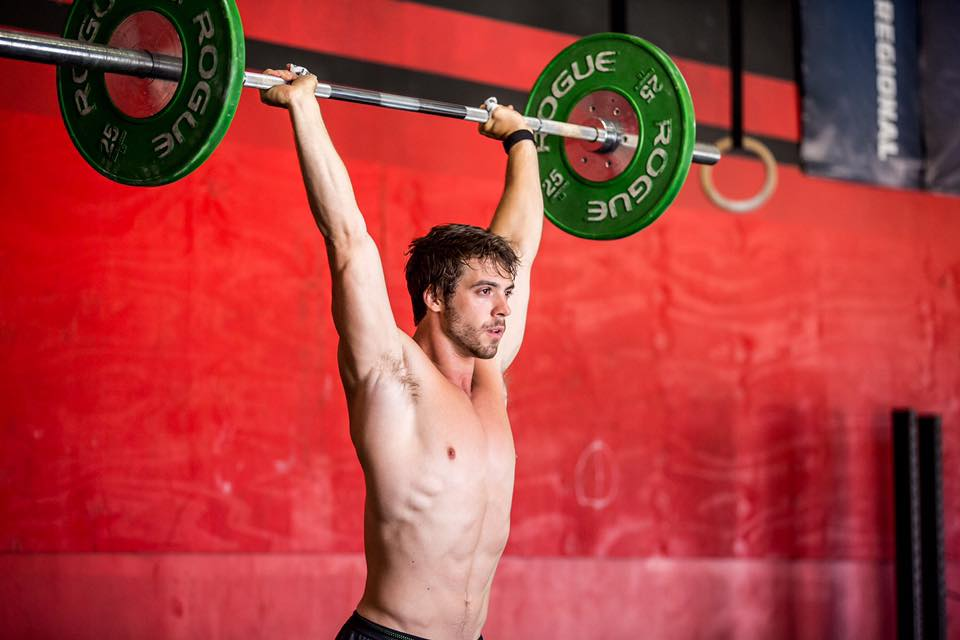 Athletes crossfit